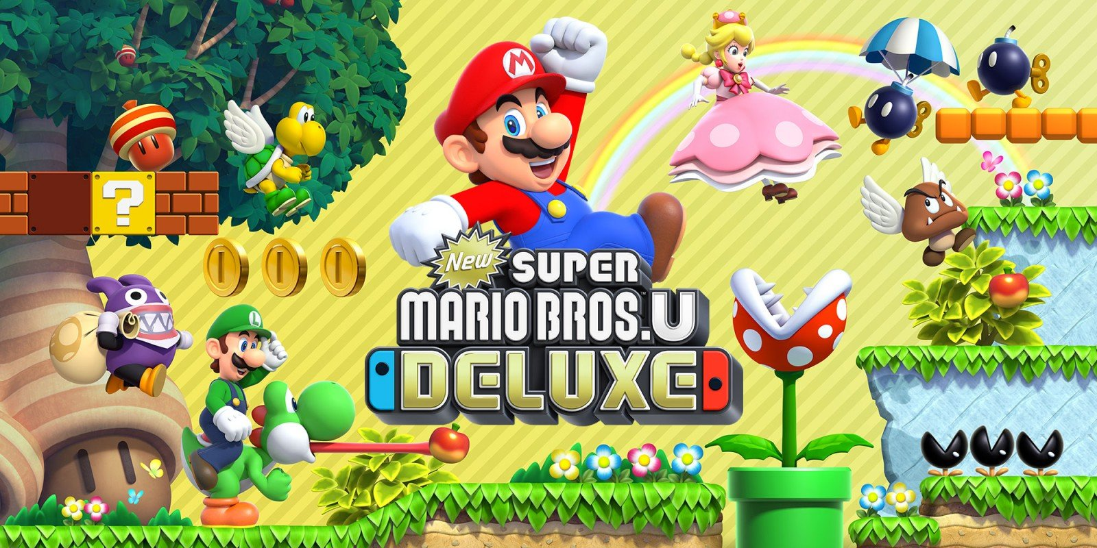 New Nintendo Switch Games 2020.New Super Mario Bros U Deluxe Approval Sets The Stage For