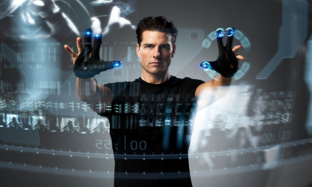 Minority Report looks cool, but the physicality of a controller in your hand will still be needed, says Schwartz (Image credit: 20th Century Fox)