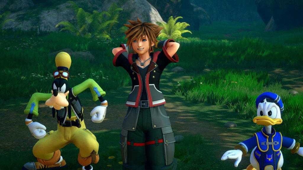 Square Enix's Kingdom Hearts 3 was a fan favorite but the lines made it difficult to see