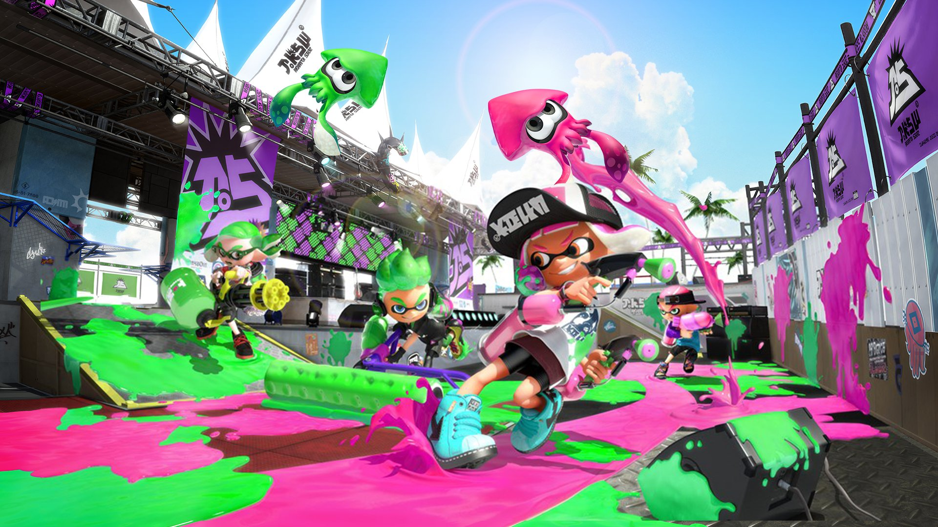 Splatoon 2 has helped bring a younger crowd to the Switch