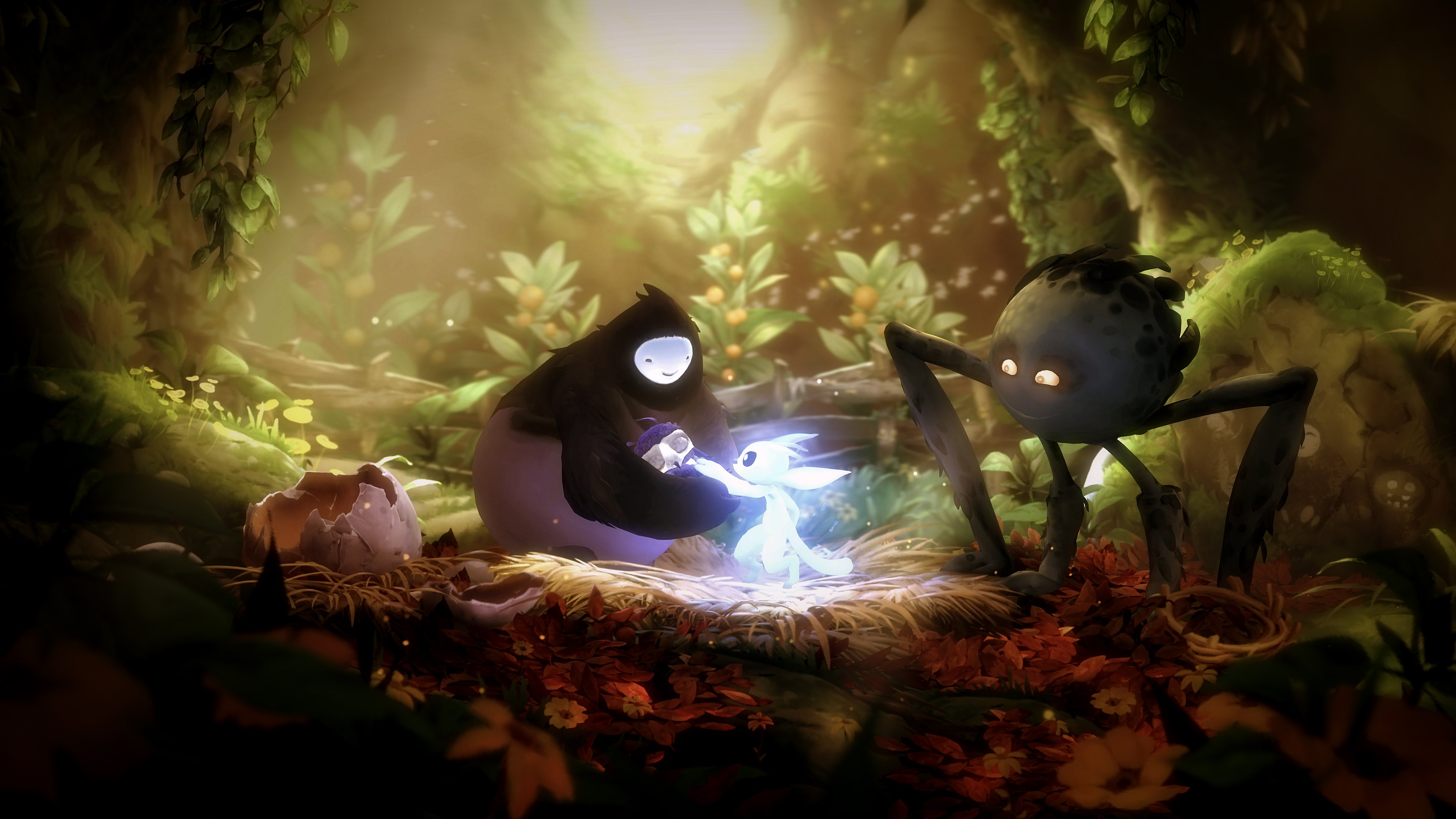 The art in Ori is second to none, and it's got the music to match (Source: Moon Studios)