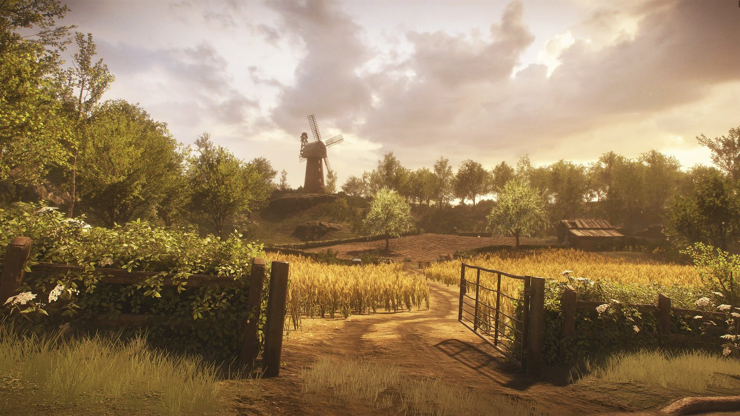 Fans of BAFTA-winning Everybody's Gone to the Rapture are eager to see what new IP The Chinese Room can create next (Image: The Chinese Room)