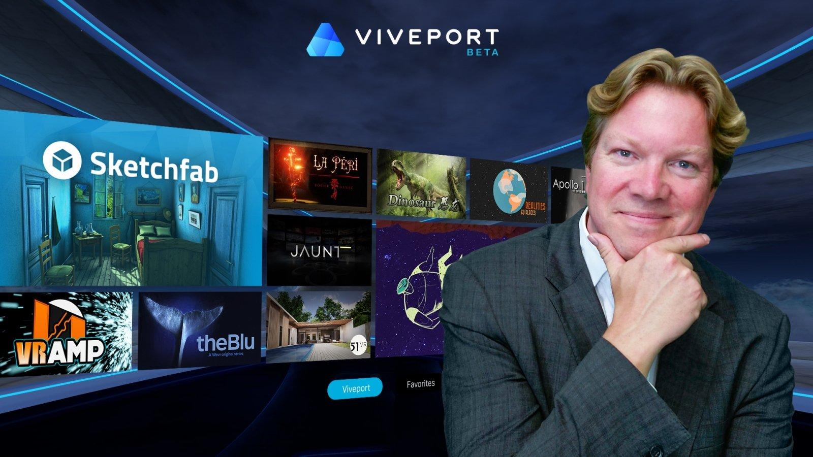 HTC Viveport's Rikard Steiber