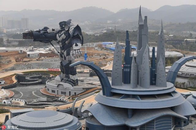 A massive virtual reality theme park has been under construction in the Guizhou capital of Guiyang