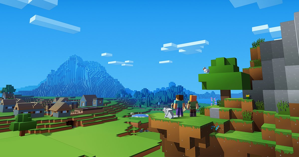 Minecraft is a great example of exceptional design that's both engaging and educational