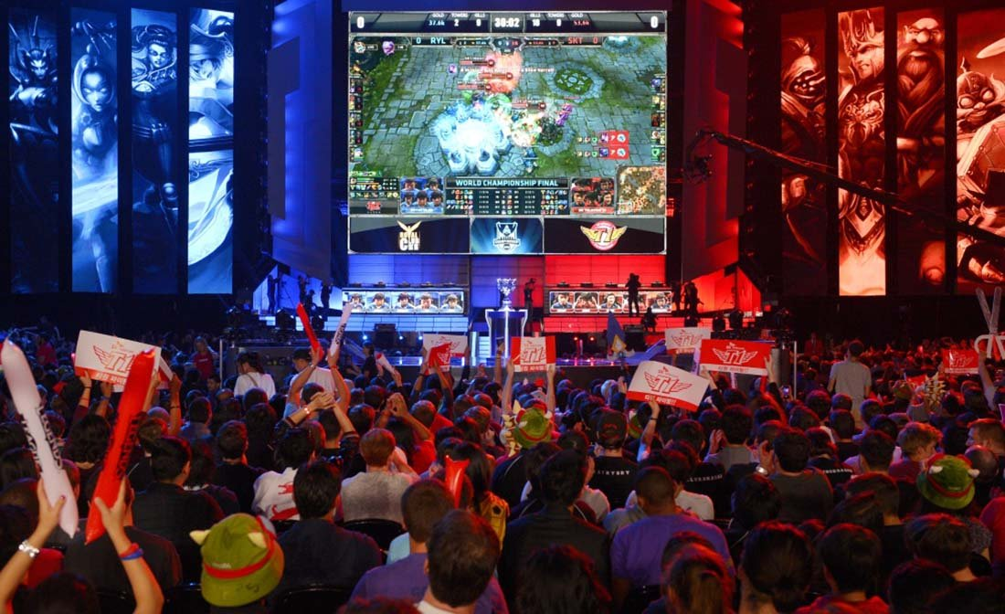 Esports is huge in China (Image: Esports Bet)