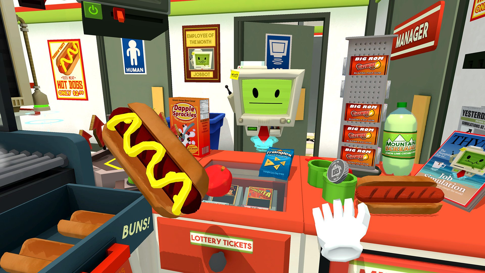 Job Simulator has won numerous accolades, including best VR/AR game at the 2017 GDC Awards