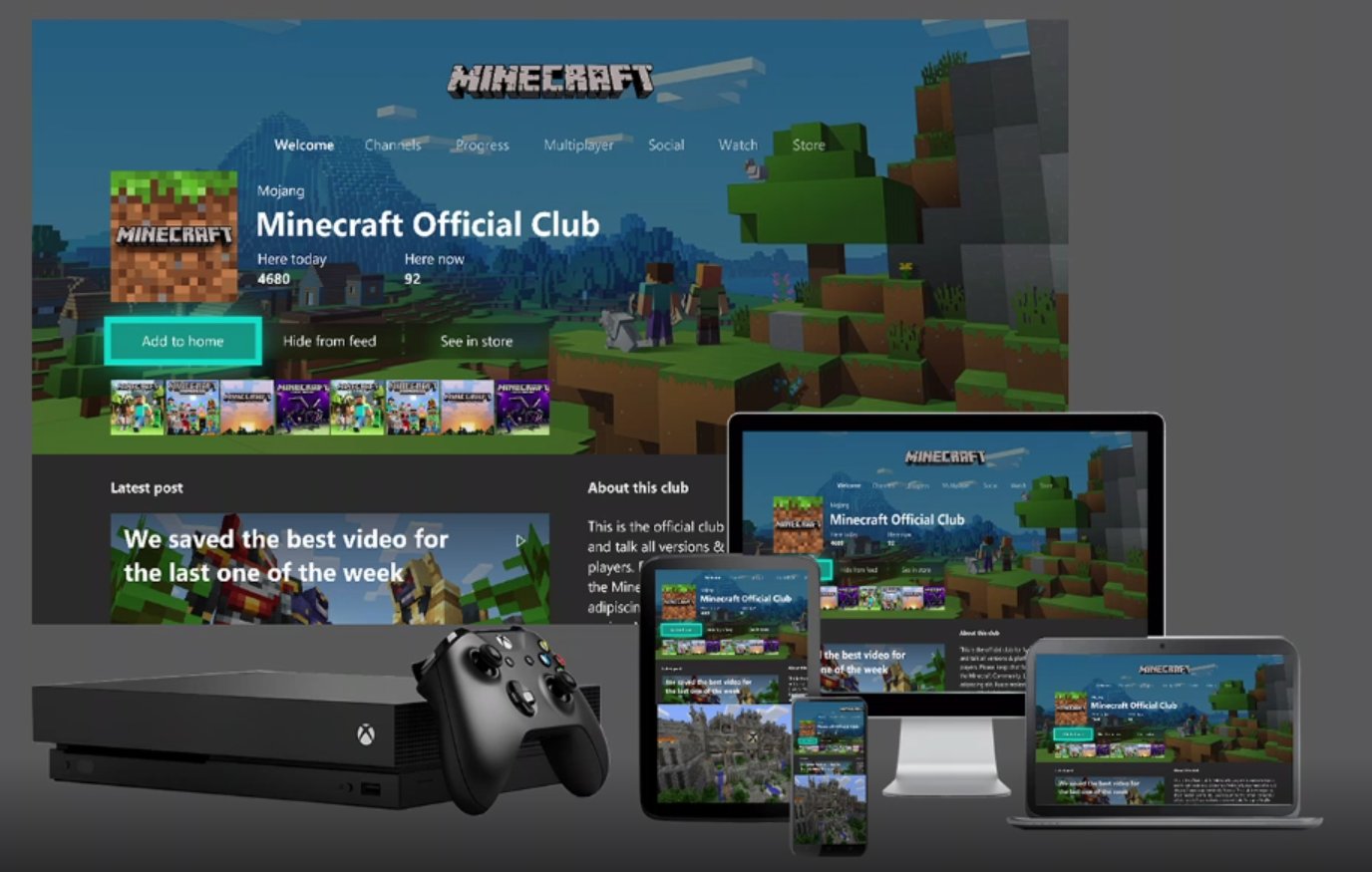 Game clubs on Xbox are a great marketing vehicle