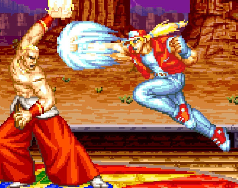 Pictured: Fatal Fury. SNK is one of a number of key partners on Antstream.