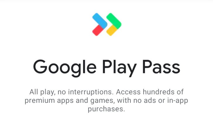 One of the leaked screenshots showing the new Play Pass logo