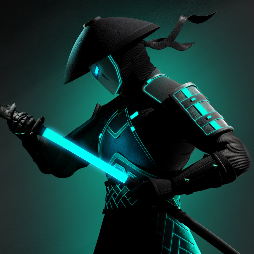 Artwork from the Shadow Fight series