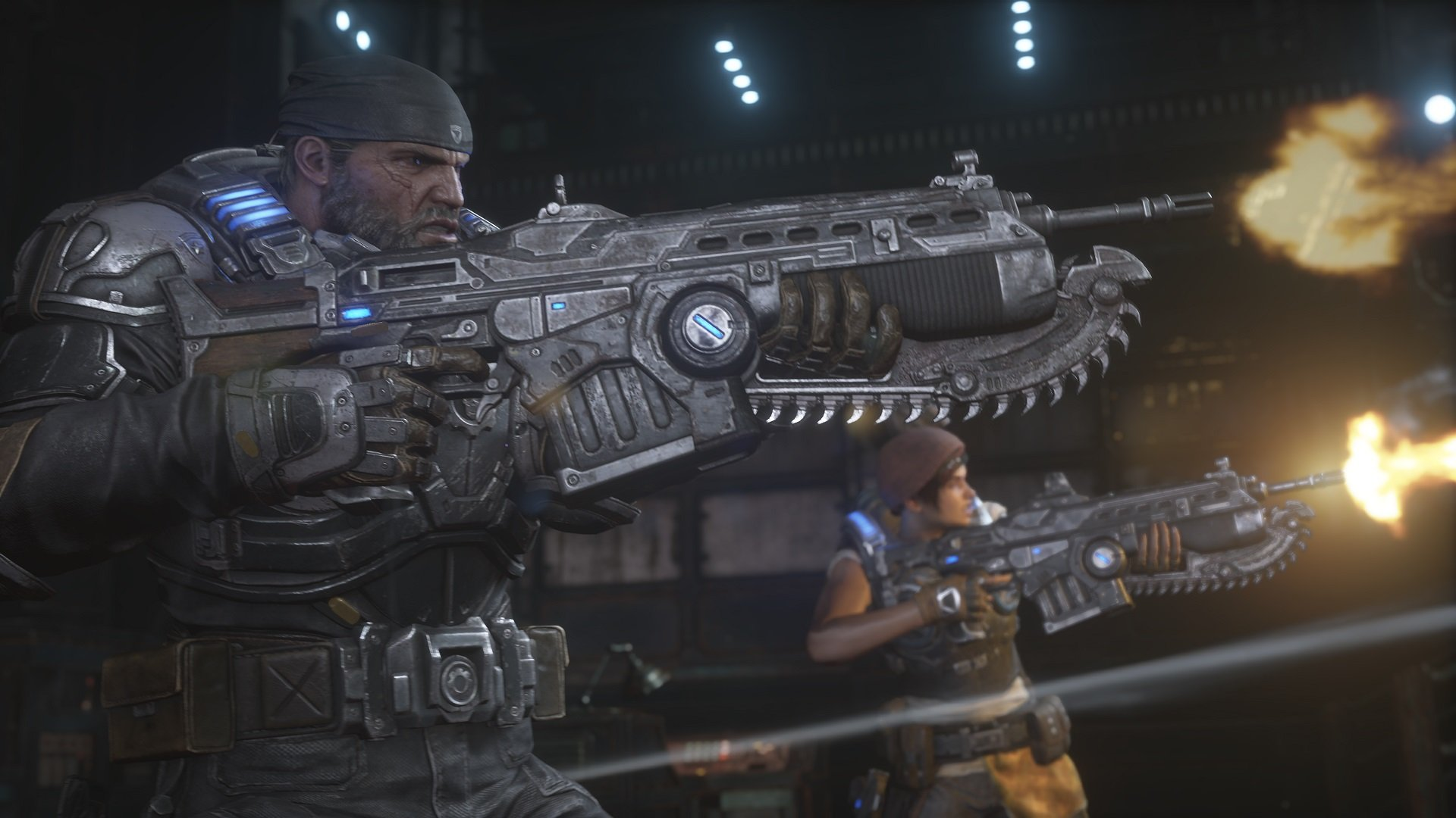 An optimized version of Gears 5 running on an Xbox Series X